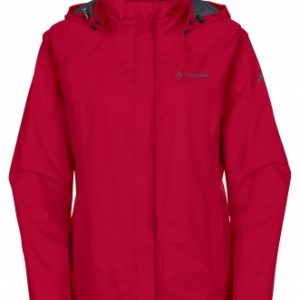 Vaude Womens Escape Bike Light Jacket 04992 indian red front