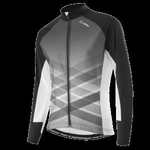 Löffler Bike Langarmtrikot Finessa FZ 21008 991 schwarz:weiß front