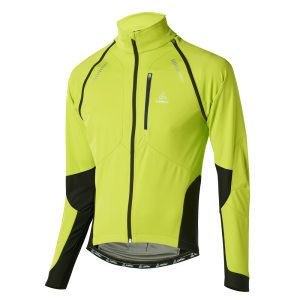 Löffler Bike Zip-off Jacke San Remo WS Softshell Light 15922 339 hellgrün front