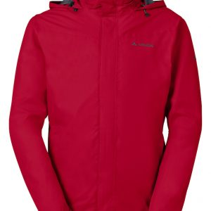 Vaude Men Escape Bike Light Jacket 05018 indian red front