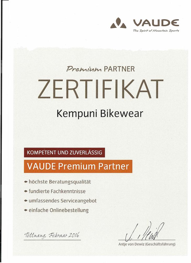 vaude premium partner